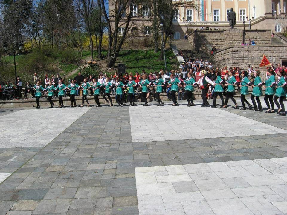 Lazar rosary - Bratsigovo, in April