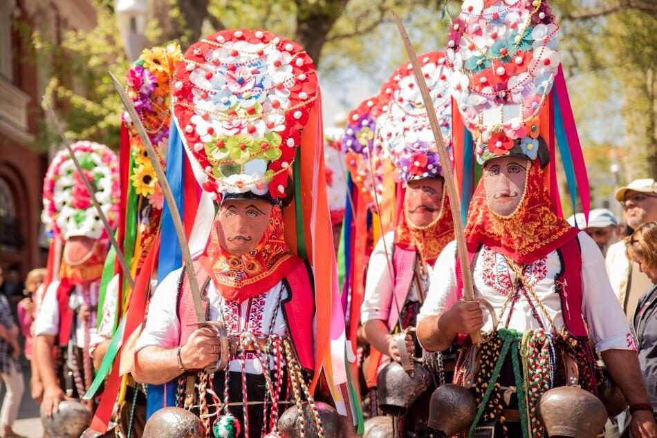 Varna Carnival in April
