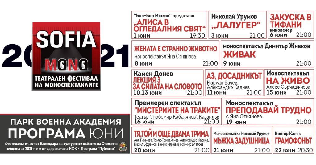 Театрален фестивал СОФИЯ МОНО