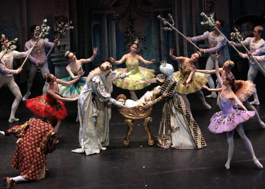 """""""Спящата красавица"""" - балетен спектакъл"""